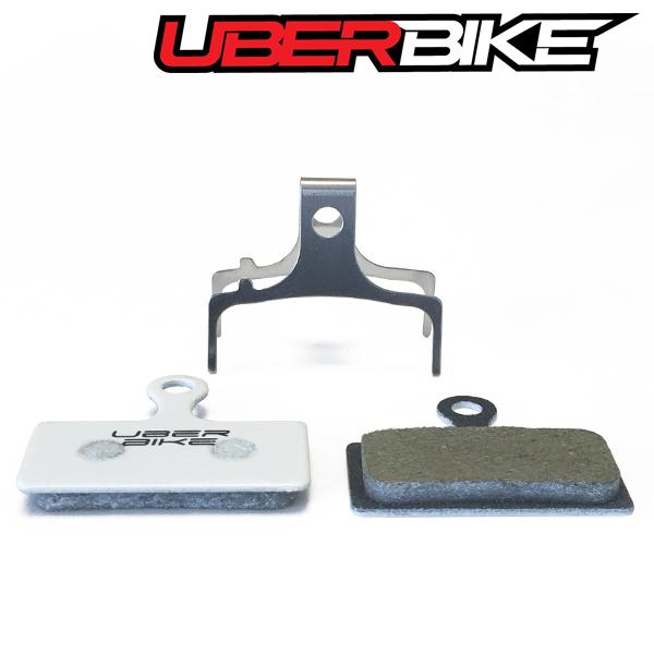 Uberbike Shimano XTR-XT-SLX-SAINT-LX Race Matrix Disc Brake pads 4 Pairs