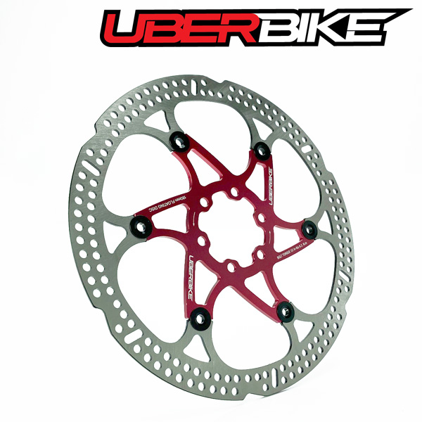 Bicycle MTB Bike Brake Disc Rotor 160mm 6 Bolts Floating Rotors Replacement