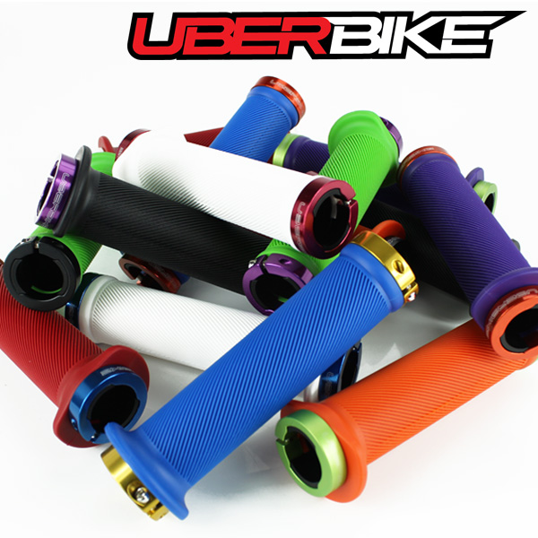 Uberbike Tight Flange Lock On Grips - Grip Builder