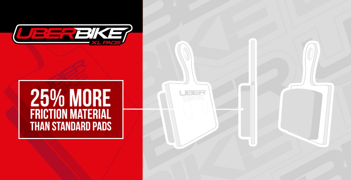 Uberbike XL disc brake pads